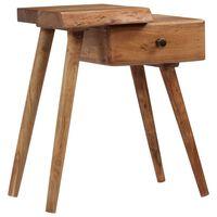 vidaXL Noční stolek masivní akáciové dřevo 45 x 32 x 55 cm
