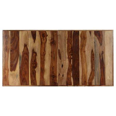 vidaXL Jídelní stůl 140 x 70 x 75 cm masivní sheeshamové dřevo