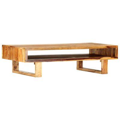 vidaXL Konferenční stolek 110 x 55 x 30 cm masivní sheesham