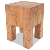 vidaXL Stolička masivní recyklované dřevo