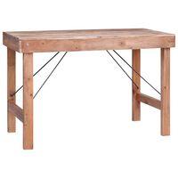 vidaXL Jídelní stůl 120 x 60 x 80 cm masivní recyklované dřevo