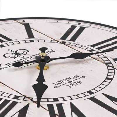 vidaXL Vintage nástěnné hodiny 30 cm Londýn, Londýn