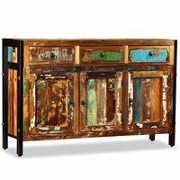 vidaXL Příborník masivní recyklované dřevo 120 x 35 x 76 cm