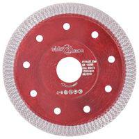 vidaXL Diamantový řezací kotouč s otvory ocel 115 mm