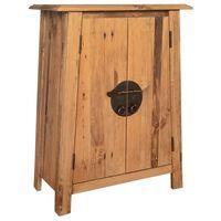 vidaXL Koupelnová odkládací skříňka recyklované borové dřevo 59x32x80