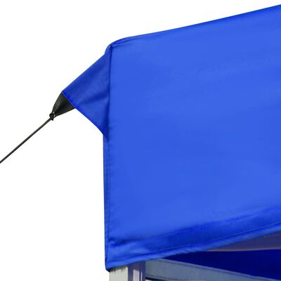 vidaXL Profesionální skládací party stan hliník 6 x 3 m modrý