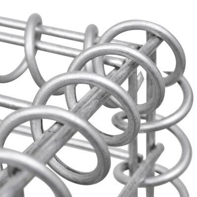 vidaXL Gabionový koš ve tvaru U pozinkovaná ocel 160 x 20 x 150 cm