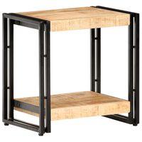 vidaXL Odkládací stolek 40 x 30 x 40 cm hrubé mangovníkové dřevo