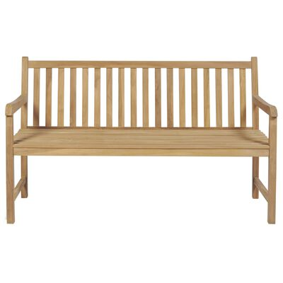 vidaXL Zahradní lavice 150 cm teak