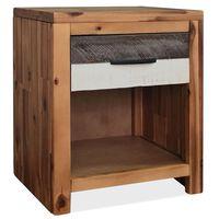 vidaXL Noční stolek masivní akáciové dřevo 40 x 30 x 48 cm