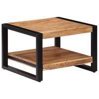 vidaXL Konferenční stolek 60 x 60 x 40 cm masivní akáciové dřevo
