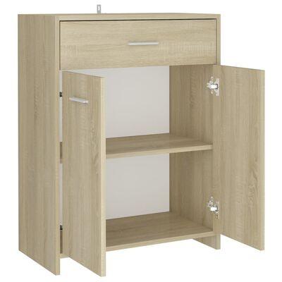 vidaXL Koupelnová skříňka dub sonoma 60 x 33 x 80 cm dřevotříska