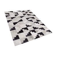 Koberec Černý/šedý 160x230 Cm Efirli