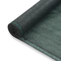 vidaXL Tenisová zástěna zelená 1 x 25 m HDPE