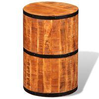 vidaXL Barová stolička z hrubého mangovníkového dřeva