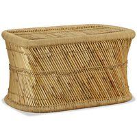 vidaXL Konferenční stolek, bambus, obdélník, 78x50x45 cm