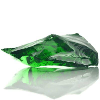 vidaXL Gabionové kameny skleněné zelené 60–120 mm 25 kg