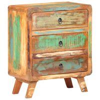 vidaXL Příborník 60 x 35 x 75 cm masivní recyklované dřevo