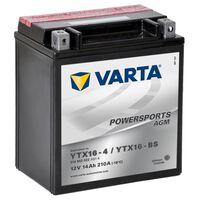 Varta AGM baterie 12 V 14 Ah YTX16-4 / YTX16-BS
