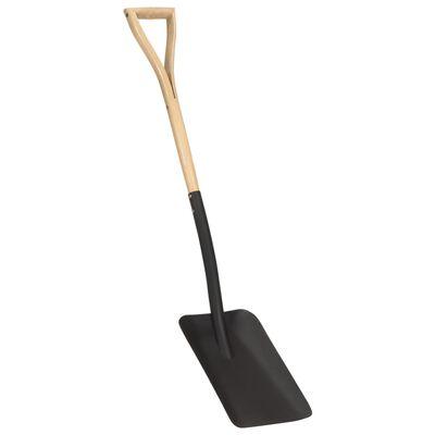 vidaXL Zahradní lopata rukojeť YD kov a jasanové dřevo