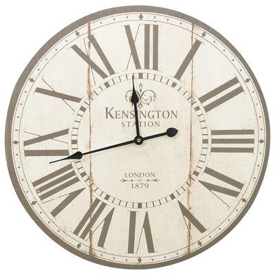 vidaXL Vintage nástěnné hodiny Londýn 60 cm, Londýn