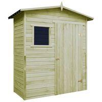 vidaXL Zahradní domek na nářadí impregnované borové dřevo