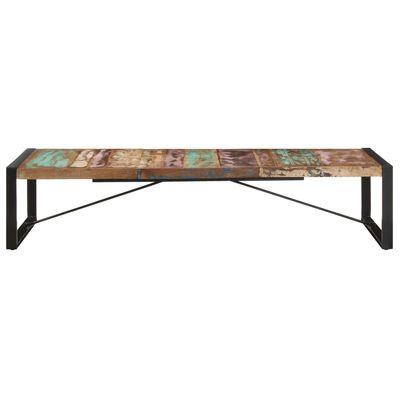 vidaXL Konferenční stolek 180 x 90 x 40 cm masivní recyklované dřevo